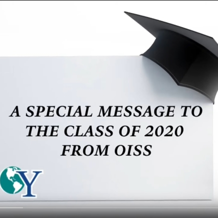 Congratulations from OISS
